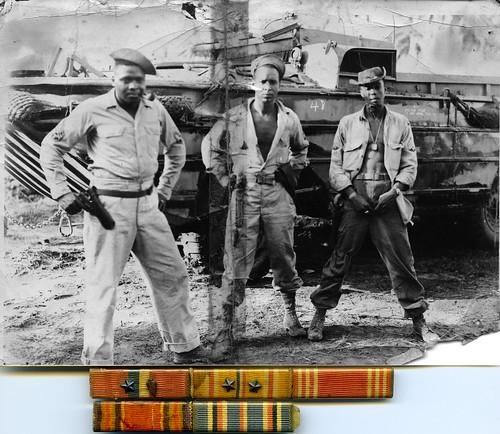 old blackandwhite bw vintage soldier wwii historic southpacific ww2 africanamerican historical fbi worldwartwo dukw thegangsallhere amphibiantruckcompany