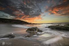 Repibelo sunset (Chencho Mendoza) Tags: sunset atardecer nikon playa galicia arteixo d610 repibelo chenchomendoza