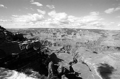 boots (balrogs kill) Tags: arizona sky film clouds 35mm rocks eagle boots grandcanyon trix wideangle docmartens grandcanyonnationalpark kodak400tx