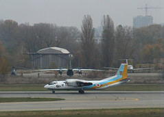 Red Cross (Treflyn) Tags: blue red plane airplane airport force cross 26 air ukraine aeroplane 25 kiev arrives kbp antonov borispol an26