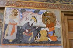 Palacio Chehel Sotun pinturas en murales 08 (Rafael Gomez - http://micamara.es) Tags: en iran murals persia palace  murales  isfahan pinturas paints palacio irn columnas frescos    cuarenta chehel sotoon    sutun sotun chihil  isfahn sotn