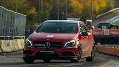 IMG_6666 (Teis Auf) Tags: red mercedes benz a45 roskilde amg