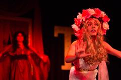 Vampire Lesbians of Sodom dress rehearsal (jobsitetheater) Tags: halloween tampa drag bay center lgbt horror vampires straz charlesbusch jobsitetheater vampirelesbians