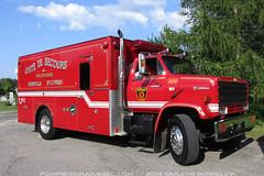 Service des incendies de Napierville / Saint Cyprien (pompiersduquebec.com) Tags: chevrolet kodiak 1634 saintcyprien napierville