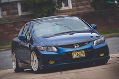 my baby.. (JTphotoinc13) Tags: blue car honda nikon si low wheels civic 70300mm bbs slammed civicsi 70300 2013 d3200 fg4 dynoblue