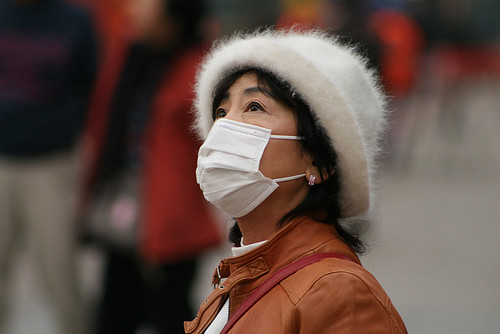 From flickr.com: Air Pollution in China {MID-70829}