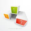 3d Box Infograph Free Vector