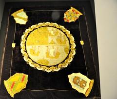 Medina de Pomar (Burgos). Monasterio de Santa Clara. Museo. Tapiz (santi abella) Tags: espaa burgos tapices medinadepomar