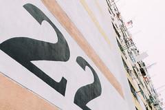 Block 22 (soujo) Tags: travel architecture typography hongkong number numbers  kowloon  housingestate shekkipmei  vscofilm