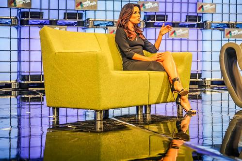 Desperate Housewives Actress Eva Longoria At Web Summit 2014 Ref-1166