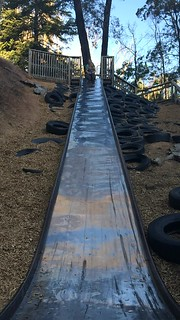 The Big Slide: M and Zoe