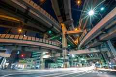 2014_10_10_A_Metropolitan_Expressway_007_HD (Nigal Raymond) Tags: longexposure japan   toky chuoku   hakozaki  metropolitanexpressway a7r 100tokyo cooljapan   nigalraymond wwwnigalraymondcom hakozakijunction shutoksokudro nihonbashihakozakich no9mukojimaroute