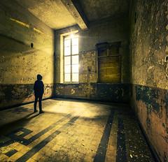 (inhiu) Tags: trip travel light urban abandoned architecture nikon long exposure belgium decay exploration derelict d800 urbex dark paintinglong inhiu shadowchurchnightlightlight exposureshadowlow