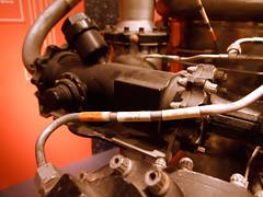 "RL-10 Rocket Engine closeup • <a style=""font-size:0.8em;"" href=""http://www.flickr.com/photos/34843984@N07/15547639212/"" target=""_blank"">View on Flickr</a>"