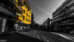 Emphasis (Ukelens) Tags: city morning light sun lights schweiz switzerland town swiss stadt bern sonne sonnenaufgang morgen sunbeam emphasis lightroom ligh sonnenschein berncity breitenrain ukelens