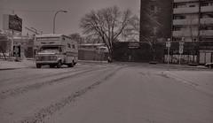 Winter Motorhome (Sherlock77 (James)) Tags: snow calgary kensington motorhome