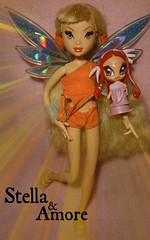 Pixie Magic Doll Stella - Mattel (Bloom) Tags: stella doll magic pixie bloom tune layla musa amore mattel piff lockette winxclub