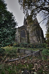 ST Johns, Abandoned COE Church (D.GFX.) Tags: pictures chimney urban fish eye tower leave underground lens photography hall photo graphics nikon shot angle mask clown wide footprints sigma wideangle historic gas fisheye explore crew historical gasmask flue but nothing disturbed impala comfort 1020mm doomsday exploration 8mm sunnyside hdr ue urbex rossendale printworks crawshaw d90 bracketed crawshawbooth crewshot