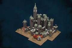 Rapture (pasukaru76) Tags: sigma28mm lego rapture bioshock diorama microscale moc decopunk retro futurism art deco raygun gothic