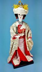 Japanese Bridal Doll c1978 (www.yashicasailorboy.com) Tags: japan japanese doll handmade housing nippon kimono yokohama bridal base honmoku area2 nakaku