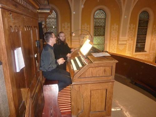100 lecie organów I koncert Marcin Armański