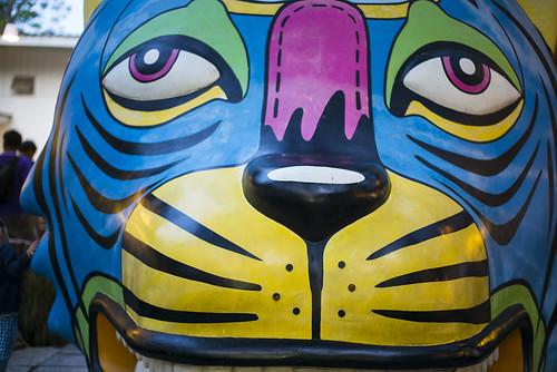 Tiger Art in Hua Hin