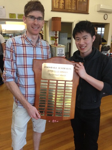 20.Peter Ford & Quen Yap - (NSW) Winners of the National Interclub Perpetual Trophy