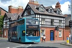 K100ABW [CX58GBZ] (Adrian's Transport Photos) Tags: cymru chester alexander dennis 2009 merseyside arriva 2014 4421 cx58gbz k100abw