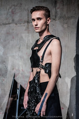 (Yvonne Shearer) Tags: new boy man black male art leather fashion photography model photographer grunge yvonne auckland zealand shearer nzfw