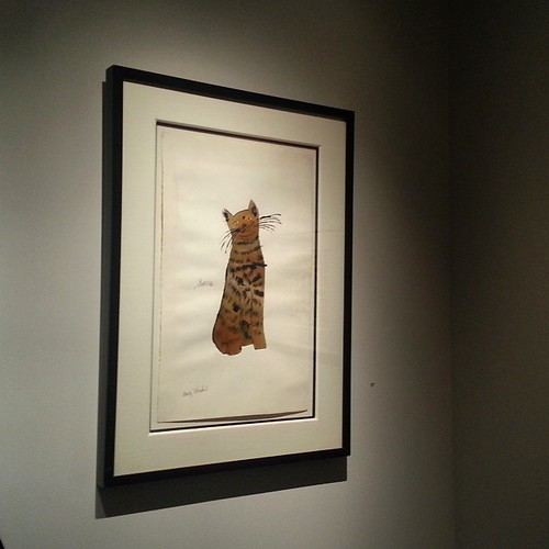 Sam by #AndyWarhol #originalart #HirschlAdlerGallery #artopening