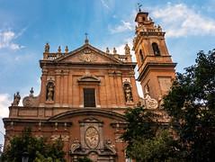 The ornate Iglesia Tomas Apostol & S Felipe Neri (Valencia) (Sony RX100M3) (markdbaynham) Tags: street city urban valencia spain sony cybershot espana spanish espanol metropolis es dsc rx100m3 rx100mkiii rx100mk3 rx100mark3