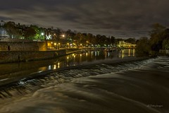 City of Chester (alundisleyimages@gmail.com) Tags: city uk longexposure nature weather clouds reflections river chester touristattraction weir riverdee romancity