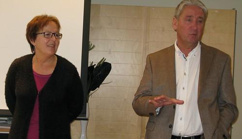 Karin Åström och  Kent Ögren