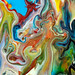 Detail from Fluid Painting 90