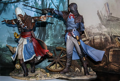 Arno&Edward II (Ennossuke) Tags: toy unity edward gamer videogame arno ac videojuego blackflag altair figura assassins assassinscreed