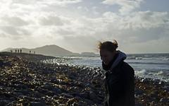 Irish Autumn (manuel.gros) Tags: ocean travel autumn ireland light shadow sea sky sun sunlight beach nature clouds strand landscape coast licht reisen nikon rocks meer europa europe wind herbst natur himmel wolken windy irland steine nikkor landschaft sonne schatten reise kste ozean sonnenlicht windig 18105mm d5100