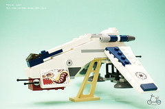 SDCC 09 Dropship (noleter) Tags: tank lego turbo walker 09 clone atte sdcc dropship
