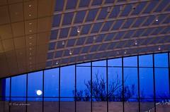 Evening at CMA 11 (rwerman) Tags: moon cleveland artmuseum atrium cma clevelandmuseumofart universitycircle clevelandartmuseum