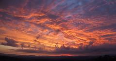 sunrise (p_e_t_r) Tags: blue light sky italy yellow sunrise lights italia alba lever nascer  salidadelsol svit