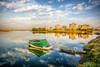 City in the nature, Izmir (Nejdet Duzen) Tags: trip travel building nature turkey boat cloudy türkiye sandal hdr apartman izmir turkei seyahat doğa bostanlı bulutlu mavişehir