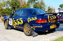 SUBARU IMPREZA WRX STI (Audi quattro2) Tags: blue japan sedan rally wrc jdm 555