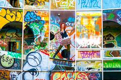 Charli Blake (Thomas Hawk) Tags: america bayarea california charli charliblake cossonhall logo sf sagehall sanfrancisco starburst treasureisland usa unitedstates unitedstatesofamerica westcoast abandoned decay graffiti fav10 fav25 fav50 fav100