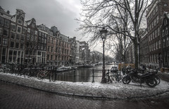 keizersgracht (milliped) Tags: keizersgracht winter hdr