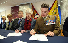 "Building Heroes & Chichester College Joint Armed Forces Covenant Signing • <a style=""font-size:0.8em;"" href=""http://www.flickr.com/photos/146127368@N06/32752917963/"" target=""_blank"">View on Flickr</a>"