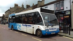 Hodgsons Coaches: Optare Solo S24BUS/YE52KPR (Exploring North East Buses) Tags: optare solo ye52kpr ye52 kpr s24bus s24 bus hodgsons coaches barnardcastle at545 gearbox mercedes engine