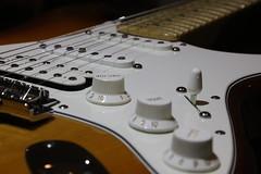 Fender (John Linwood) Tags: fender strat stratocaster doublecoils humbucker pickup