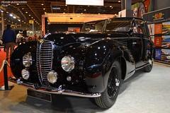 Delahaye 135M Chapron Cabriolet Mylord 1949 (Monde-Auto Passion Photos) Tags: auto automobile delahaye noir ancienne rare rarete cabriolet convertible france paris retromobile evenement