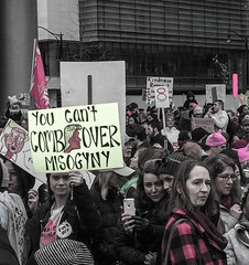 IMG_0214 (justine warrington) Tags: womens march womensmarch womensmarchonwashington washington pink pussy hats pinkpussyhat protest signs trump 45th presidential election january 21st 2017 potus resist resistance is fertile