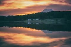 The Rapture (marcusklotz2014) Tags: mtrainer washingtonstate volcano farm lake sunrise explorewashington longexposure reflection cloudporn