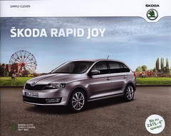 Skoda Rapid Joy; 2016_1 (World Travel Library) Tags: škoda skoda skodarapid 2016 car brochures sales literature czechcars auto worldcars world travel library center worldtravellib thecollection automobil papers prospekt catalogue katalog vehicle transport wheels makes models model automobile automotive motor motoring drive wagen photos photo photograph picture image collectible collectors ads fahrzeug frontcover cars سيارة 車 automobiles documents dokument broschyr esite catálogo folheto folleto брошюра